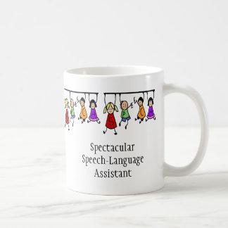 Spectacular Speech-Language Assistant cute kids Coffee Mug