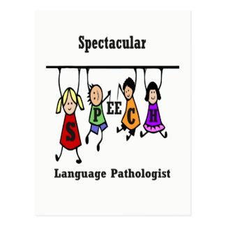 Spectacular Speech-Language Pathologist Kids Postcard