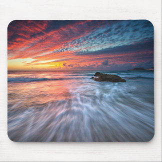Spectacular Sunset | Stone Beach, El Mouse Pad