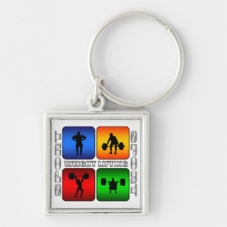 Spectacular Weight Lifting Key Chains