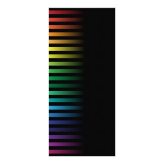 Spectral Background Rack Card Template
