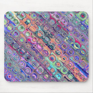 Spectral Glass Beads Mouse Pad