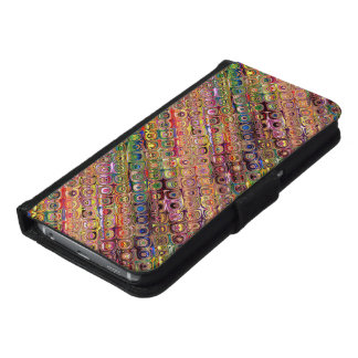 Spectral Glass Beads Samsung Galaxy S6 Wallet Case