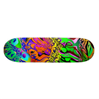 Spectral Shapes Abstract 19.7 Cm Skateboard Deck