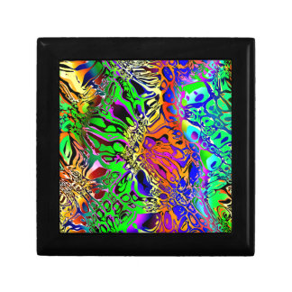 Spectral Shapes Abstract Gift Box