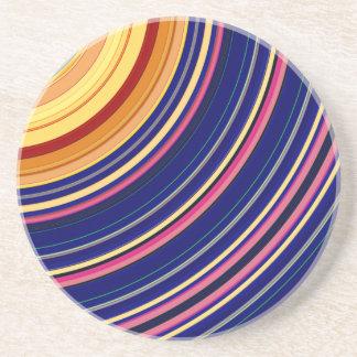 Spectral Sun Rays Coaster