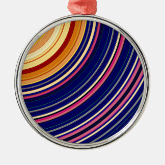 Spectral Sun Rays Metal Ornament