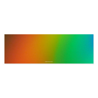 Spectrum Bookmark Pack Of Skinny Business Cards