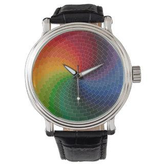 Spectrum Color Wheel Watch