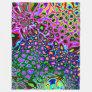 Spectrum of Abstract Shapes Fleece Blanket