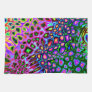 Spectrum of Abstract Shapes Hand Towels