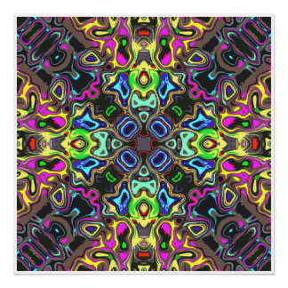 Spectrum of Abstract Shapes Poster