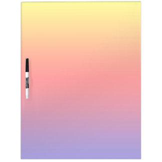 Spectrum of Horizontal Colors -1 Dry Erase Boards