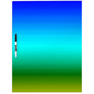 Spectrum of Horizontal Colors - 2 Dry Erase White Board