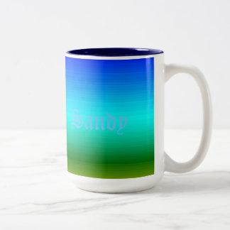 Spectrum of Horizontal Colors - 2 Two-Tone Mug