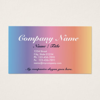 43 spectrum business cards and spectrum business card for Single business card template