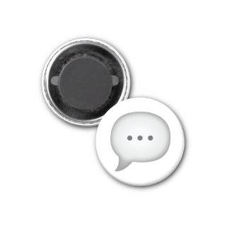 Speech Bubble - Emoji Magnet