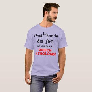 Speech Pathologist T-Shirt