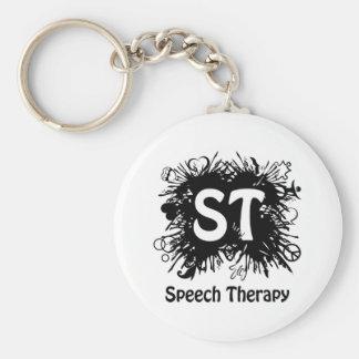 Speech Therapy splash Key Ring