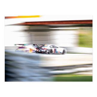 Speed Blur Postcard