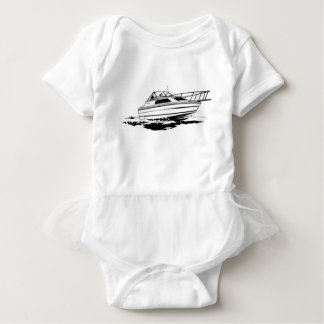 Speed Boat Cruiser Baby Bodysuit