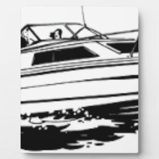 Speed Boat Cruiser Plaque