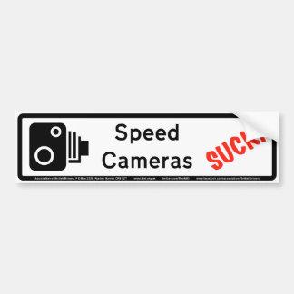 Speed Cameras Suck Bumper Sticker
