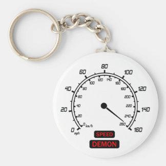 Speed Demon Key Ring