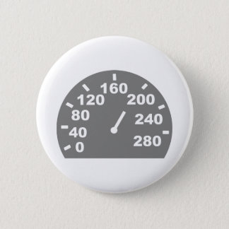 Speed indicator 6 cm round badge