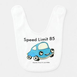 Speed Limit 85 Baby Bib