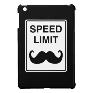 Speed Limit Mustachio Sign iPad Mini Covers