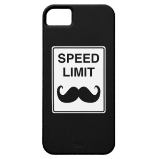 Speed Limit Mustachio Sign iPhone 5 Covers