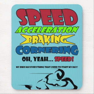 Speed! Mouse Pad