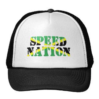 Speed Nation Jamaican Flag Cap