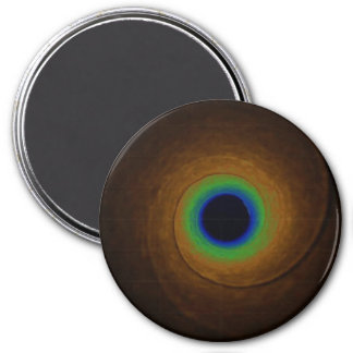 Speed of Light 7.5 Cm Round Magnet
