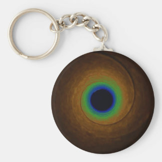 Speed of Light Basic Round Button Key Ring