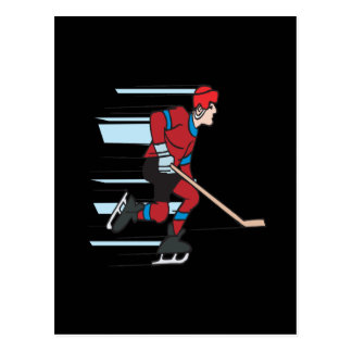 Speed Skater Postcard