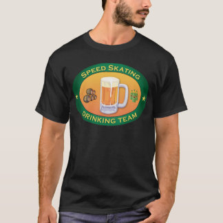 Speed Skating Drinking Team T-Shirt