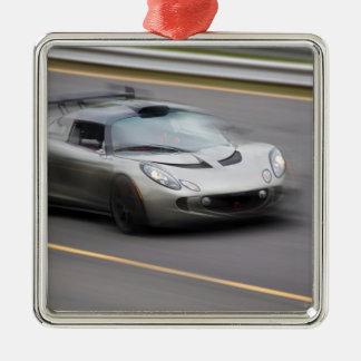Speeding Sports Car Ornaments