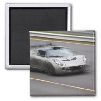 Speeding Sports Car Fridge Magnets