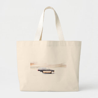 Speeding SUV Truck Tote Bags