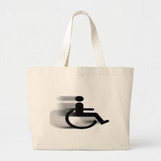Speeding Wheelchair Bag