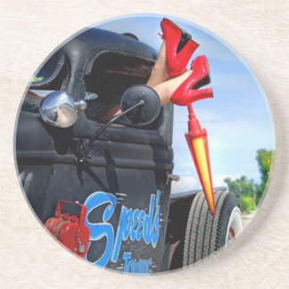 Speeds Towing Rat Rod Truck Rockabilly Betty Coaster