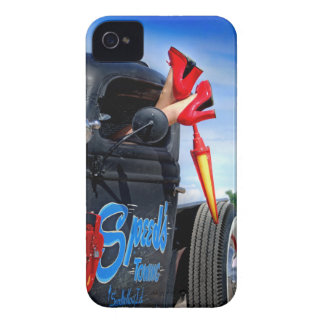 Speeds Towing Rat Rod Truck Rockabilly Betty iPhone 4 Case-Mate Case