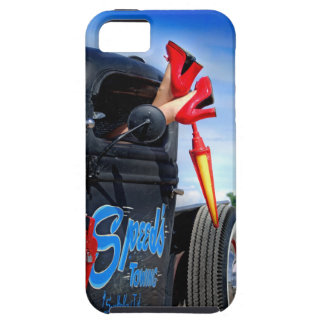Speeds Towing Rat Rod Truck Rockabilly Betty Tough iPhone 5 Case