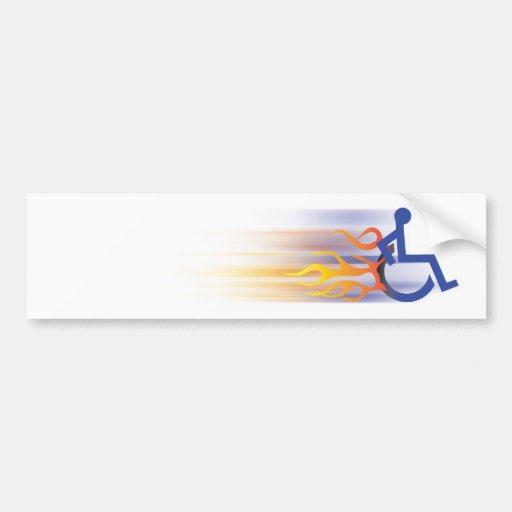 Speedy Chair Bumper Sticker