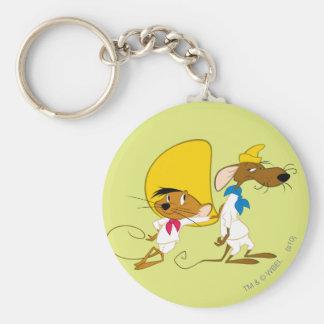 SPEEDY GONZALES™ and Friend Basic Round Button Key Ring