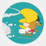 Speedy Gonzales Running in Colour