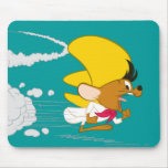 Speedy Gonzales Running in Colour Mouse Pad