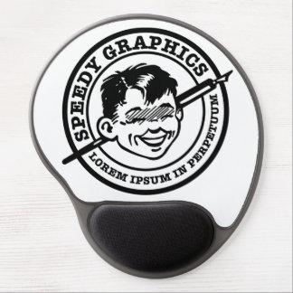 Speedy Graphics Boy Gel Mouse Pad